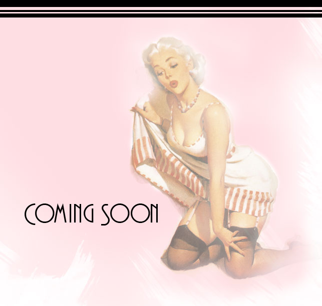 "The Deco Beauty Pinup Gal says ""Deco Beauty, a Mineral Makeup and Skin Care Product company, is Coming Soon!"